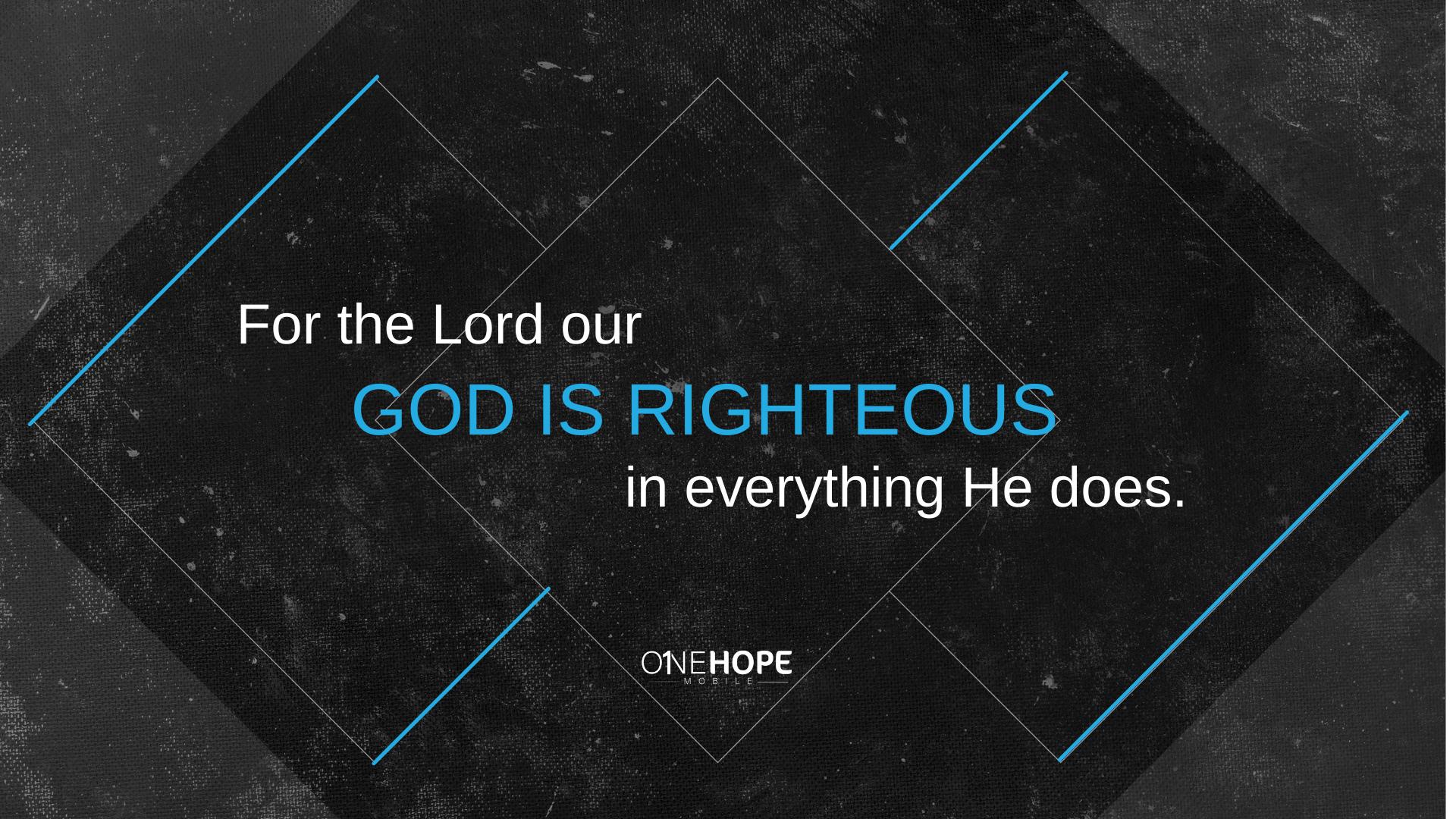 God's Righteousness is Revealed in the Gospel
